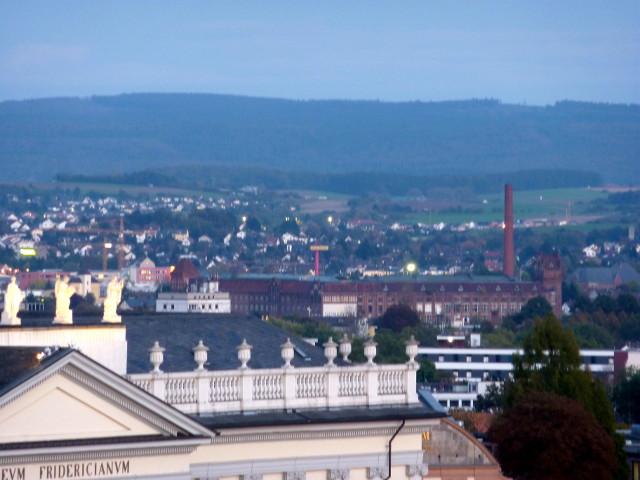 Die Salzmann-Fabrik vom FRK-Balkon aus gesehen (2014-10-14)