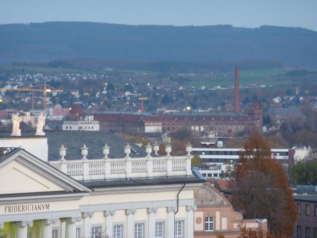 Die Salzmann-Fabrik vom FRK-Balkon aus gesehen (2014-11-08)