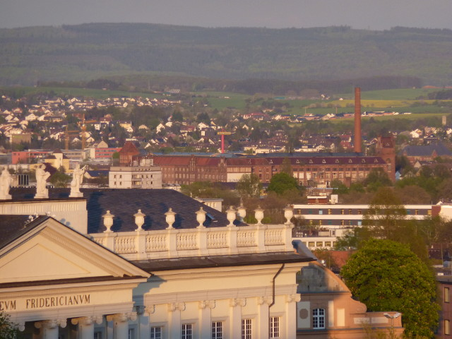 Die Salzmann-Fabrik vom FRK-Balkon aus gesehen (2015-04-28)