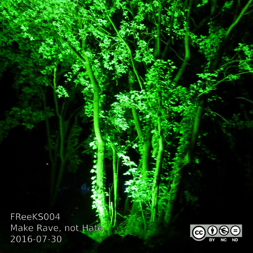 Cover: DJ Robb – Make Rave, not Hate 2016-07-30 [FReeKS004]